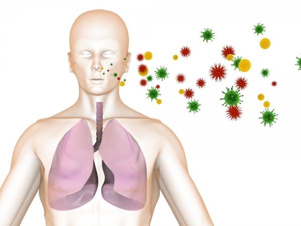 Grypa miewa rozmaite powikłania - często atakuje układ oddechowy...